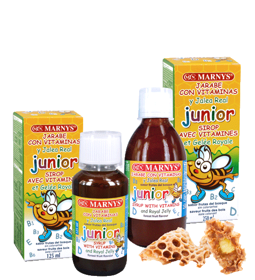 Jarabe Junior Multivinamínico con Jalea Real 125ml - 250ml