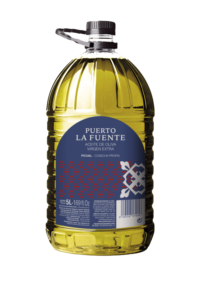 Aceite Virgen Extra Oliva 5L